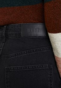 WHY7 - CRISTI CARROT - Relaxed fit jeans - black - 4