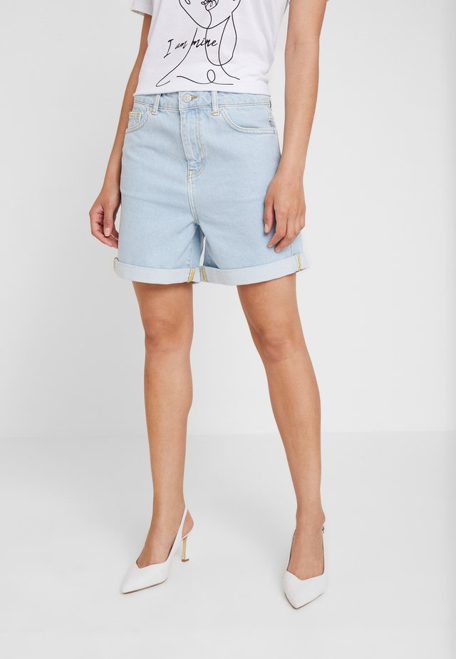 DIVA - Jeans Shorts - bright blue