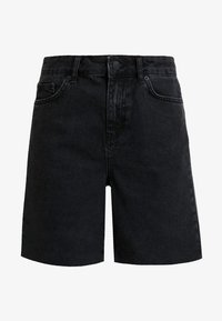 WHY7 - DIVA - Shorts di jeans - black - 4