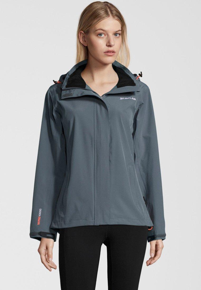 Whistler - WILEY MIT REFLEKTIERENDEN ELEMENTEN - Outdoor jacket -  stormy weather