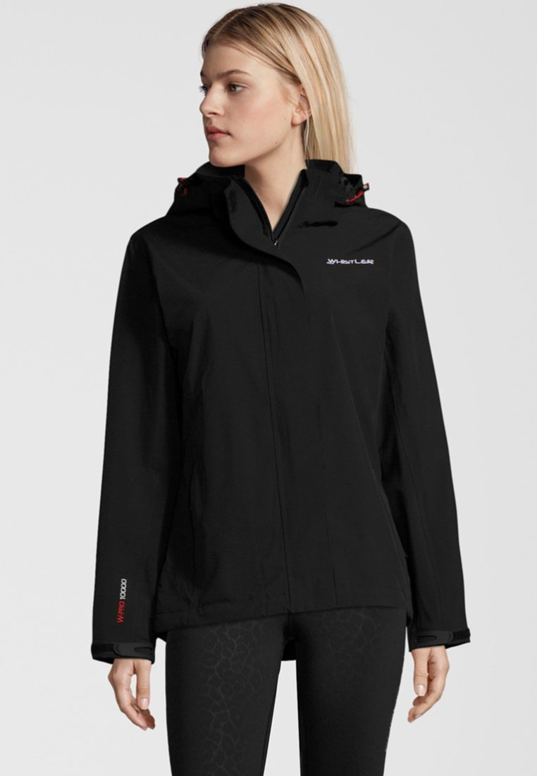 Whistler - WILEY MIT REFLEKTIERENDEN ELEMENTEN - Outdoor jacket -  black