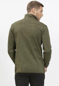 Whistler - Fleece jacket - olive - 2