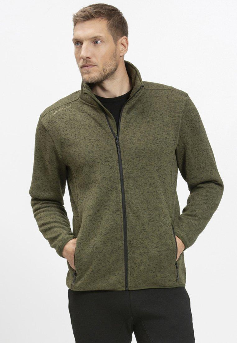 Whistler - Fleece jacket - olive