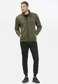 Whistler - Fleece jacket - olive - 1