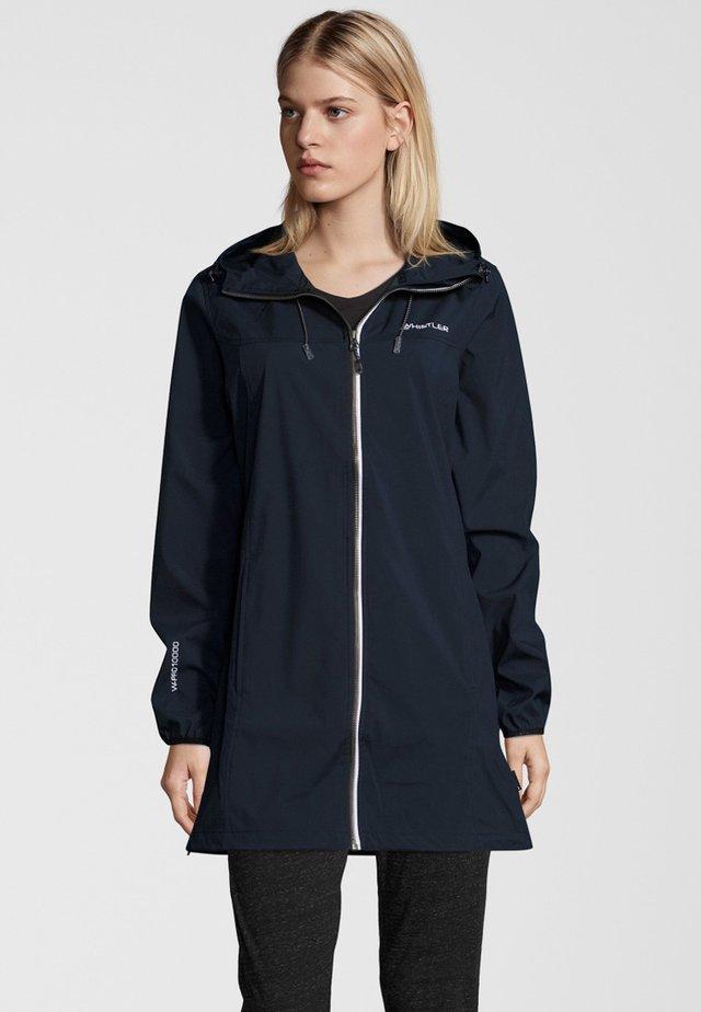 HERRIN - Waterproof jacket - navy