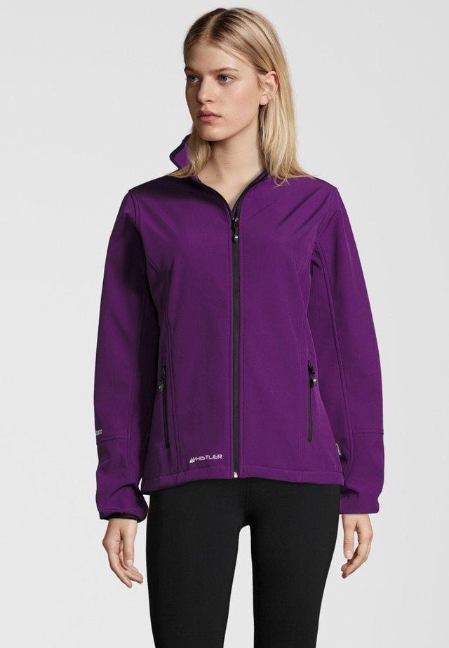 MIT WASSERDICHTER ZWISCHENMEMBRAN - Soft shell jacket - purple