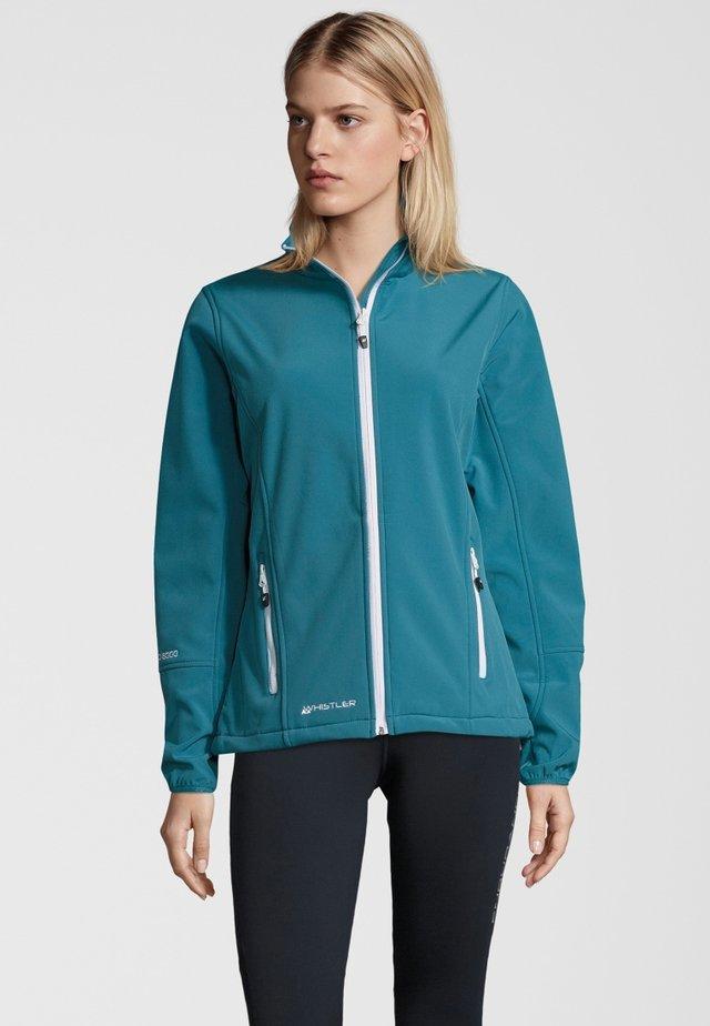 MIT WASSERDICHTER ZWISCHENMEMBRAN - Soft shell jacket - blue