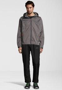 Whistler - PADUA - Soft shell jacket - frost grey - 1