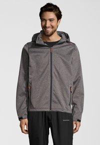 Whistler - PADUA - Soft shell jacket - frost grey - 0
