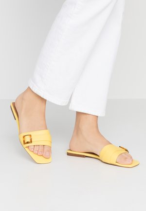 WHITNEY - Mules - daffodil