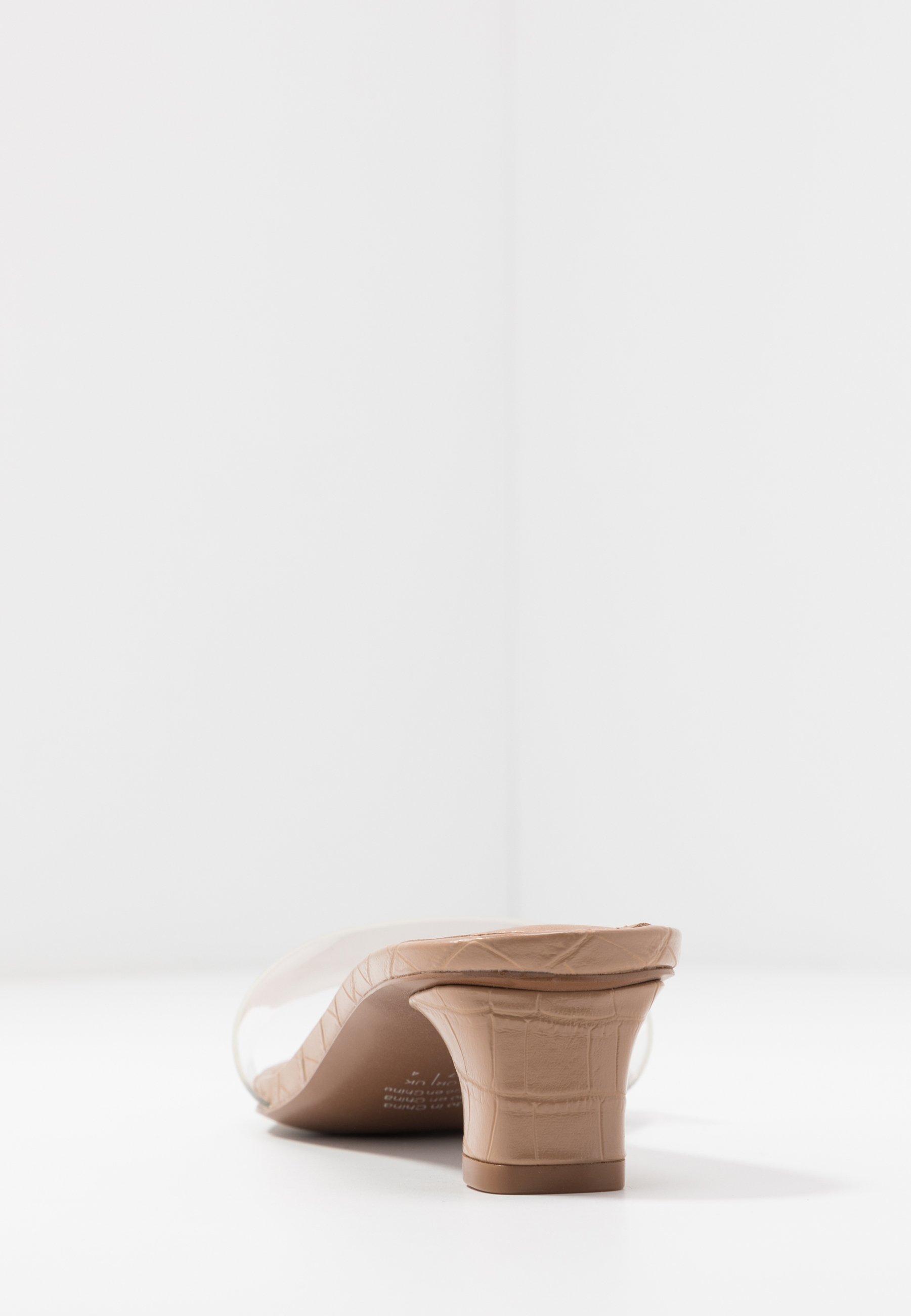 Who What Wear NICOLA - Sandaler - latte/clear