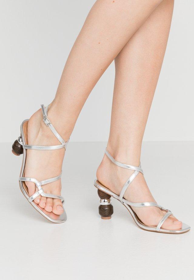 RYLEIGH - Sandals - silver