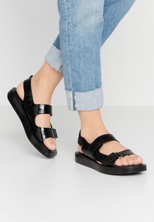 AXEL - Sandaalit nilkkaremmillä - black