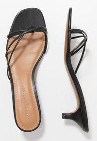 Who What Wear - ADDISON - Sandály s odděleným palcem - black - 3