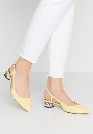 EDEN - Klassiske pumps - yellow