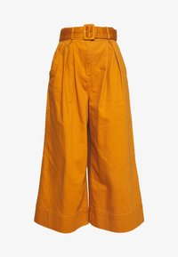 Who What Wear - THE WIDE LEG PANT - Trousers - marmalade - 5