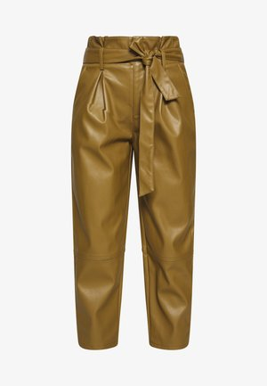 TIE TROUSERS - Bukse - army