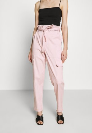 THE PAPERBAG TROUSER - Bukse - rose