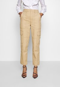 Who What Wear - THE UTILITYPANT - Trousers - sand - 0