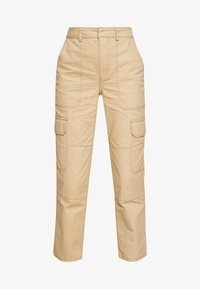Who What Wear - THE UTILITYPANT - Trousers - sand - 4