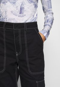 Who What Wear - THE UTILITYPANT - Bukse - black - 5
