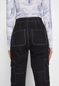 Who What Wear - THE UTILITYPANT - Bukse - black - 3