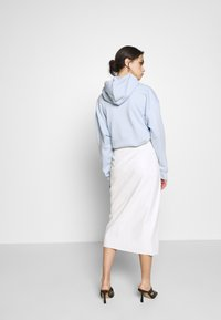Who What Wear - THE VEGAN SARONG SKIRT - A-linjekjol - parchment - 2