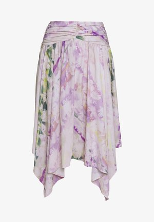 THE RUCHED HANDKERCHIEF SKIRT - A-line skirt - off-white