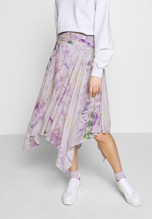 THE RUCHED HANDKERCHIEF SKIRT - Áčková sukně - off-white