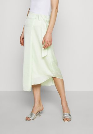 THE FOLDED DRAPE SKIRT - A-snit nederdel/ A-formede nederdele - pale acid