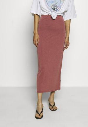 SKIRT - Pencil skirt - dark blush