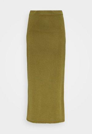 SKIRT - Pencil skirt - moss
