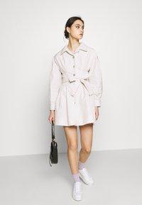 Who What Wear - THE A LINE DRESS - Skjortklänning - off-white - 1