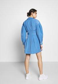 Who What Wear - THE A LINE DRESS - Shirt dress - royal blue - 2