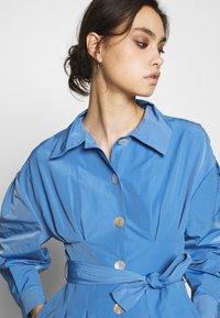 Who What Wear - THE A LINE DRESS - Shirt dress - royal blue - 4