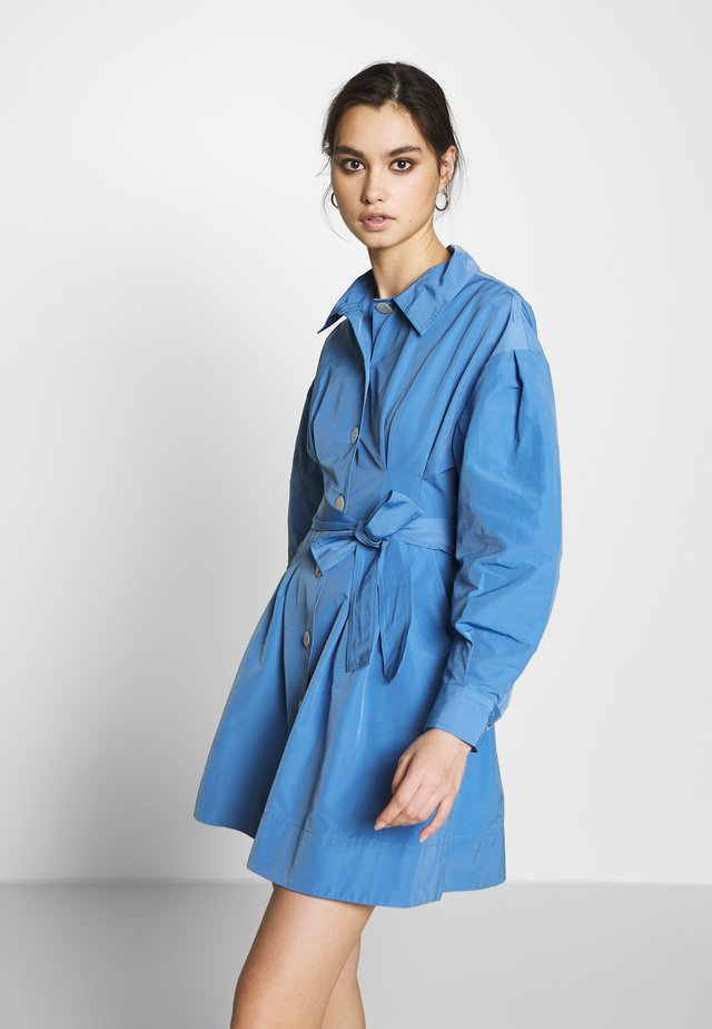 THE A LINE DRESS - Shirt dress - royal blue