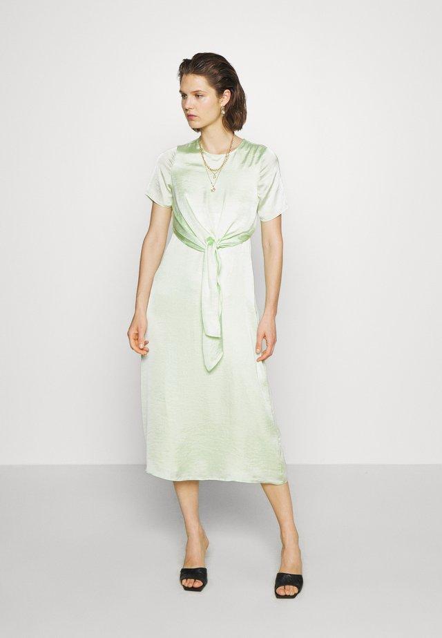 THE KNOT DRESS - Day dress - pale acid