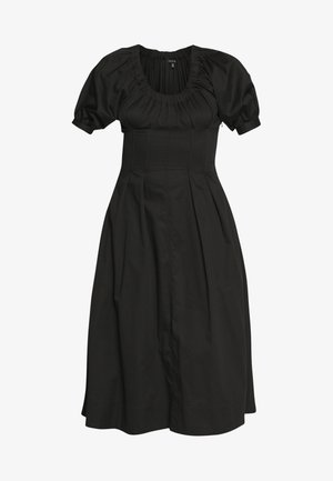 WAIST DETAIL MIDI DRESS - Robe d'été - black