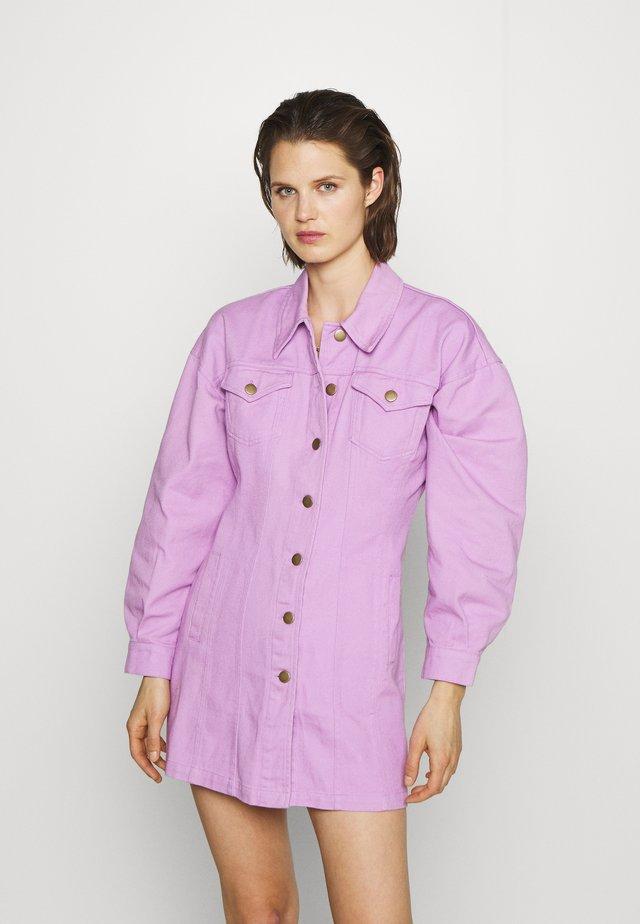 THE JACKET MINIDRESS - Robe en jean - wisteria