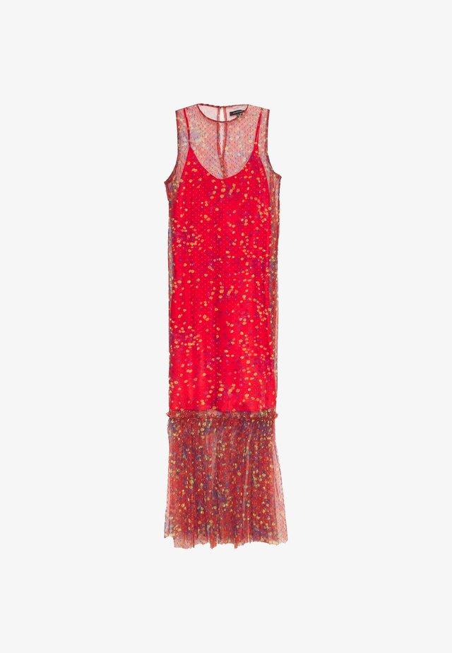 THE DRESS - Maxi-jurk - confetti red