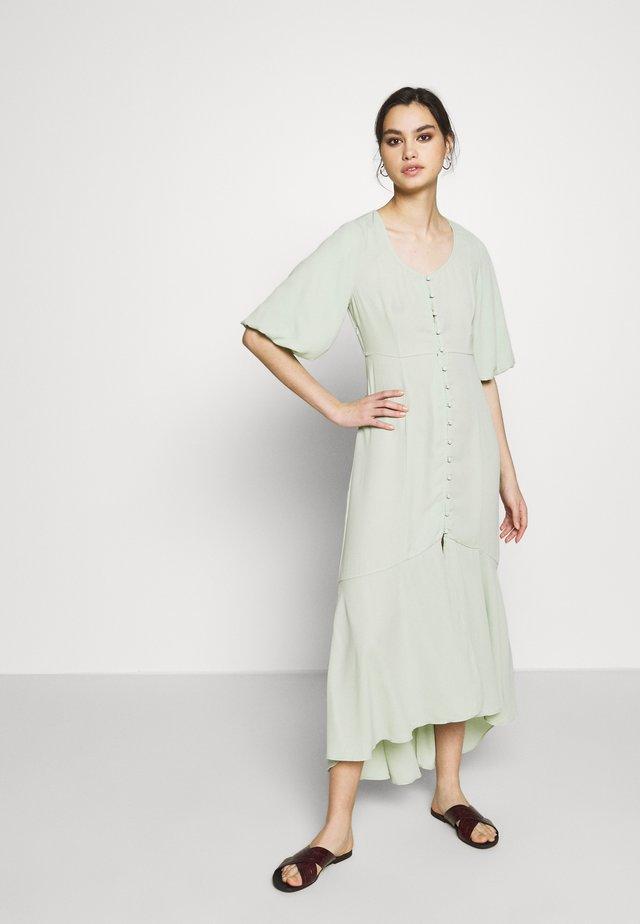 THE FISHTAIL DRESS - Maxi-jurk - sage