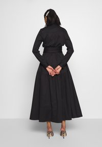 Who What Wear - THE BELTE DRESS - Maxi šaty - black - 2