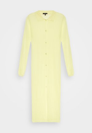 THE SHEER DRESS - Robe chemise - lemon