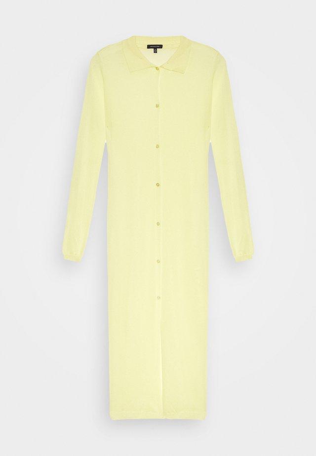 THE SHEER DRESS - Blousejurk - lemon