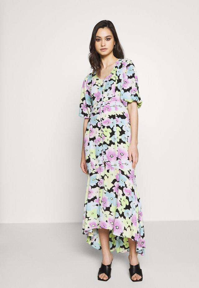 THE FISHTAIL DRESS - Maxi-jurk - multicolor