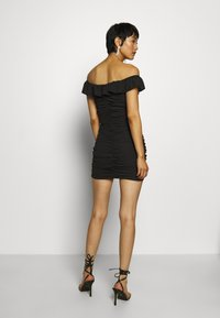Who What Wear - PARTY DRESS - Etui-jurk - black - 2