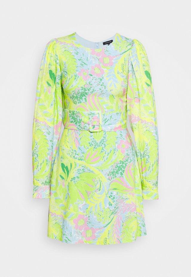 A-LINE BELTED DRESS - Sukienka letnia - acid