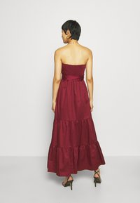Who What Wear - STRAPLESS BUSTIER DRESS - Abito da sera - rosewood - 2