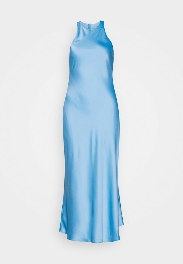 CUT OUT BACK SLIP DRESS - Maxi-jurk - sky blue