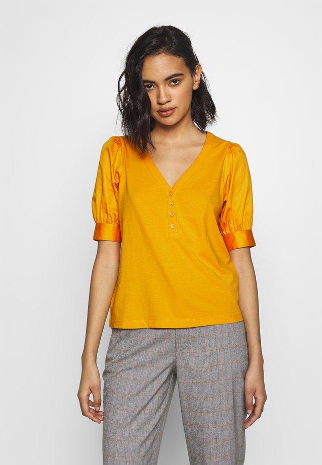 PUFF SLEEVE - Print T-shirt - sunflower